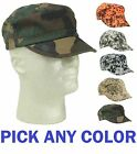Digital Army Training Camouflage GI Military Flat Top Cadet Cap Caps Hat Hats