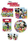 Mickey Mouse Party Time Birthday Party Decoration Items, Tableware Supplies