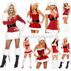 Sexy Damen Christmas Weihnachten Fest Party Costume Cosplay Fancy XMAS Dress