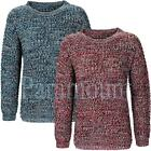Side Zip Twisted Cable Knit Chunky Jumper  Womens Size