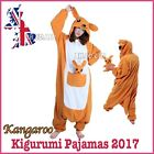 Adult Kangaroo Animal Onesie Kigurumi Pajamas Hoodies Sleepwear Costume Cosplay