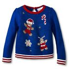 Infant Toddler Girls' Gingerbread Man Ugly Christmas Sweater