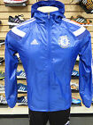NEW ADIDAS Chelsea FC Anthem Home Men's Jacket - Chelsea Blue/White;  F85571