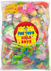 1 OR 100 Mixed Boys Girls Party Loot Bag Toys Fillers Favors Lucky Dip Prizes