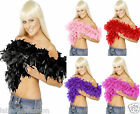 Feather Boa 1920s 1930s Flapper Hen Night Burlesque Ladies Fancy Dress