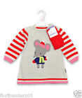BABY GIRLS EX STORE KNITTED MOUSE DRESS & TIGHTS SET NEWBORN UPTO 18-24