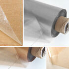 Clear Transparent Glitter PVC Vinyl Wipe Clean Tablecloth Table Protector Cover