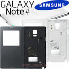 SAMSUNG Galaxy Note4 SM-N910 Wireless Qi charge S-View Cover Case EP-VN910I NEW!