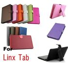 """PU Leather Case & Keyboard for Windows 8 LINX 8"""" inch Tablet PC"""