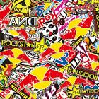 Energy Drinks Stickerbomb Vinyl - Air Free Wrap - All Sizes - Assorted Designs