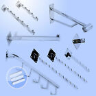 WALL MOUNT MOUNTED RETAIL SHOP DISPLAY HANGERS/ HOOKS/ ARMS/ ACCESSORIES FIXING