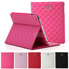 New Magnetic Crown Leather Smart Case Stand Cover for Apple iPad 6 iPad Air Mini