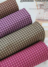 3mm Check 100% Cotton Fabric / All sizes / Quilting fabric cuts (ff018)