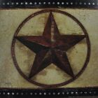 "MOL243 Red Barn Star Mollie 12""x12"" framed or unframed art print rustic"