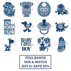 BABY TOPPERS Tattered Lace Range Metal Dies Stephanie Weightman Craft Cut Card