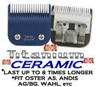 ValueGroom PRO TITANIUM CERAMIC A5/AG/BG BLADE*FitMost Oster,Andis,Wahl Clippers