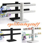 2-Tier Organizer Jewelry Holder Display Bracelet Chain Bangle Watch Hanger T-bar
