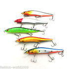 3/5pcs Pro 14cm/23g Spinner Fishing Lure Baits Spoons Bait Treble Hooks Tackle