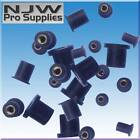 RUBBER NUTS FAIRING PANELS WELL NUT   Brass Insert anti vibration  All sizes