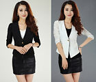 spring summer women's professional small suit jacket