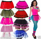 NEON TUTU SKIRT 80'S FANCY DRESS PARTY
