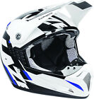 Lazer SMX Whip MX Off Road Helmet White/Black/Blue