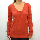 Volcom Women's Sin Ombre Knit Jumper - AW12: Red