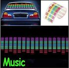 Sound Activated Equalizer Music Rhythm LED Flash Light Lamp Car Sticker