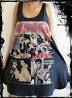**Ladies The Who Dress** Free Size (Tank Top Vest Singlet T-Shirt)