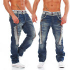 CIPO & BAXX - C-1112 - Regular Fit - dicke Naht - Men / Herren Jeans Hose