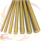 Brass Round Bar Rod CZ121 - 4mm 5mm 6mm 7mm 8mm 10mm 12mm