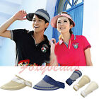 HOT Foldable Women Mens Wide Large Brim Straw Cap Visor Cap Summer Beach Sun Hat