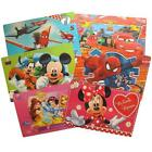 Disney Marvel Lenticular Desk Table Mat 55x35cm Mickey Minnie Cars Spiderman