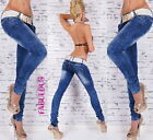 New Sexy Size 6 8 10 12 14 Women's Designer Low Rise Skinny Jeans Hot Denim Wear