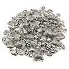 25g Gorgeous Heart Silver Mixed Charms Mix For Jewellery Making And Crafts