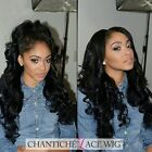 Brazilian Remy Human Hair Lace Front Wigs Deep Wave Full Lace Wigs 180% Density