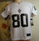NWT NFL JIMMY GRAHAM 80 New Orleans Saints white Jersey T-shirt,Youth S,M,L,XL $35.0 USD on eBay