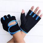 Weight Lifting Safe Gloves Gym Fitness Workout Cycling Driving Hunting Half Mitt