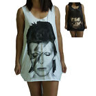 David Bowie Vest Tank-Top Singlet (Dress T-Shirt) Sizes S M L XL