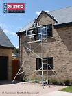 Super DIY Up To 7.2M - SDIY Aluminium Scaffold Tower / Towers Free Next Day Del <br/> Including 4 X Stiffeners worth &pound;90 for FREE