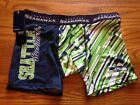 SEATTLE SEAHAWKS MENS COMPRESSION SHORTS  NEW WITH TAGS