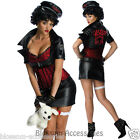 CL323 Betty Boop Biker 50s Pin Up Secret Wishes Fancy Dress Adult Womens Costume