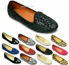 New Womens Flats Ballet Dolly Pumps Ladies Casual Ballerinas Black Shoes Size UK