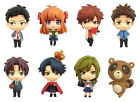 Gekkan Shoujo Nozaki-kun Color Colle Figure Strap 8Pack BOX