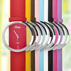 Dalas Perspective Stainless Steel Trasparent Quartz WristWatch Rubber Band Gift