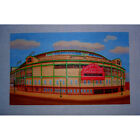"Needlepoint canvas ""WrigleyField.Chicago, IL"""