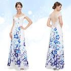 Ever Pretty Elegant Sexy Long Evening Party Prom Floral Formal Dresses 08374