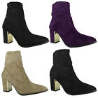 NEW WOMENS LADIES ANKLE FLAT HI TOP HIDDEN WEDGE SHOES BOOTS TRAINERS PUMPS SIZE