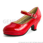 New Girls Peagent Wedding Dress Heel Shoes Style D63K(Youth 9 10 11 12 13 1 3 4)