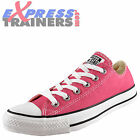 Converse Womens Girls Chuck Taylor All Star Lo Trainers Pink * AUTHENTIC *
